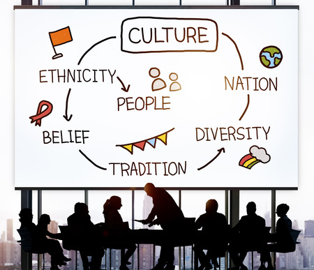 nation: Culture Ethnicity Diversity Nation People Concept