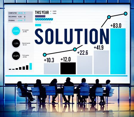 innovation leadership: Solution Solve Strategy Success Improvement Concept