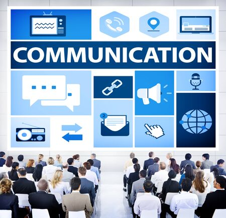 messaging: Communication Instant Messaging Chatting Talking Concept