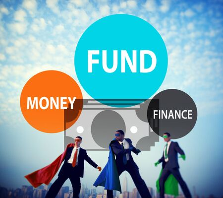 action fund: Fund Budget Business Finance Money Profit Wealth Concept Stock Photo