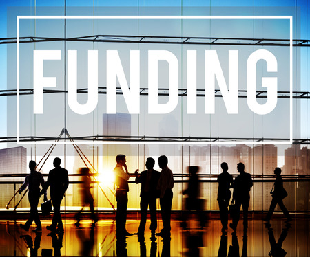 Funding Finance Fundrising Global Business Invest Concept Banque d'images