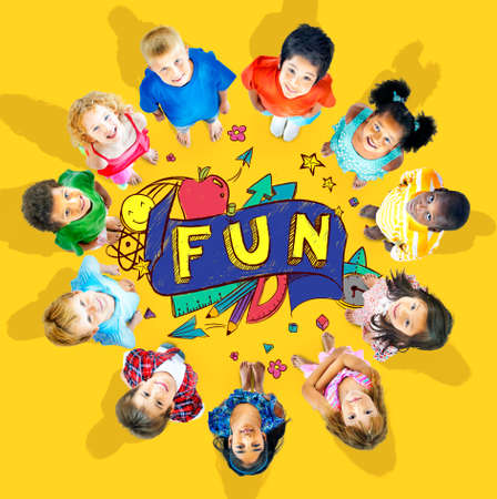 learning: Fun Joy Smiley Stationery Education Concept Stock Photo