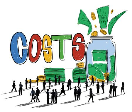 Costs Capital Budget Investment Economic Concept