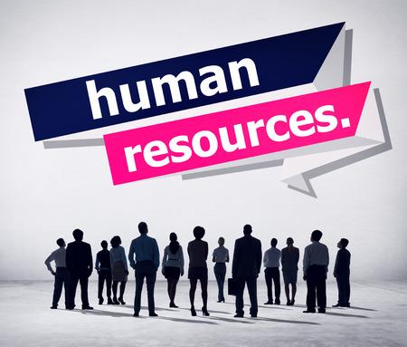 human vision: Human Resources Employment Job Recruitment Concept Stock Photo