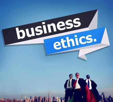 trust: Business Ethics Integrity Honesty Trust Concept