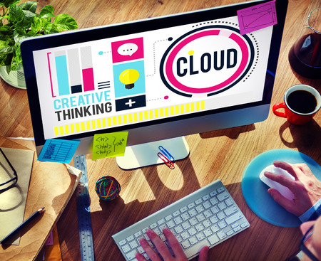 cloud networking: Cloud Cloud Computing Cloud Networking Data Storage Concept