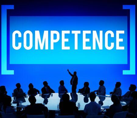 Competence Skill Ability Proficiency Accomplishment Concept