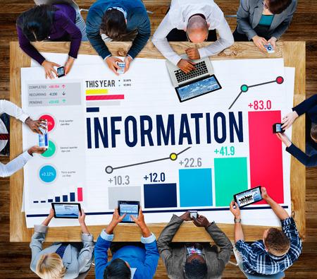 conocimiento: Datos de Informaci�n del Concepto de Datos del Conocimiento Foto de archivo