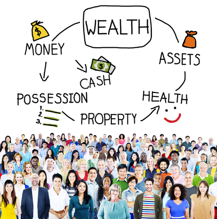 possession: Wealth Money Possession Investment Growth Concept
