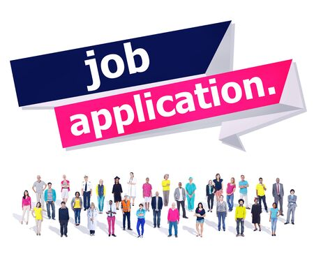 Sollicitatie Solliciteren Recruitment Beroep Carrière Concept
