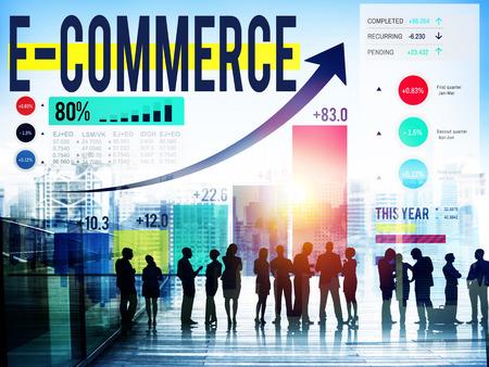 internet marketing: E-commerce Internet Global Marketing Purchasing Concept