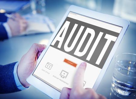 Audit Accounting Boekhouding Financiën Inspection Concept Stockfoto - 44149232