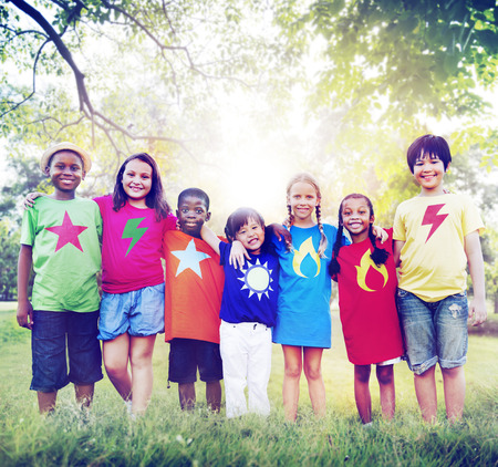 youth culture: Children Friendship Togetherness Smiling Happiness