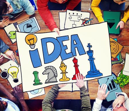 Idea Thought Motivation Mission Vision Concept