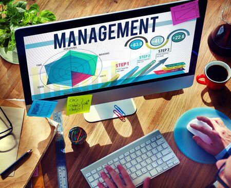 Management Authoritarian Coaching Trainer Concept Stock Photo