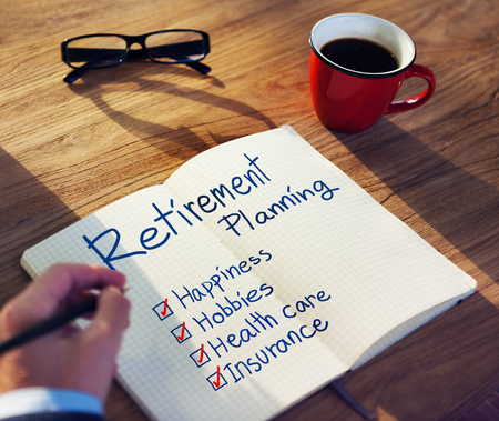 Retirement planning concept Stock Photo