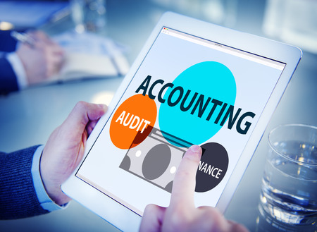 Accounting Audit Finance Economic Capital Concept