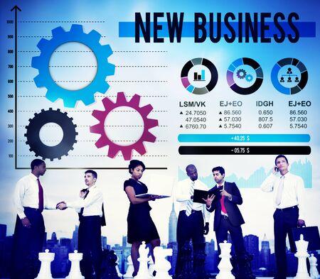 stock market launch: New Business Innovation Creativity Inspiration Ideas Concept