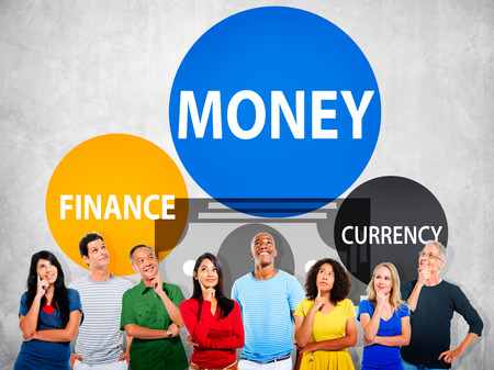 banking concept: Money Finance Currency Investment Economy Banking Concept