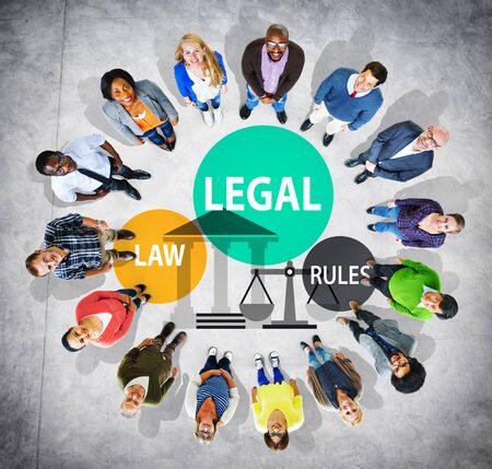 norms: Legal Law Rules Community Justice Social Gathering Concept Stock Photo