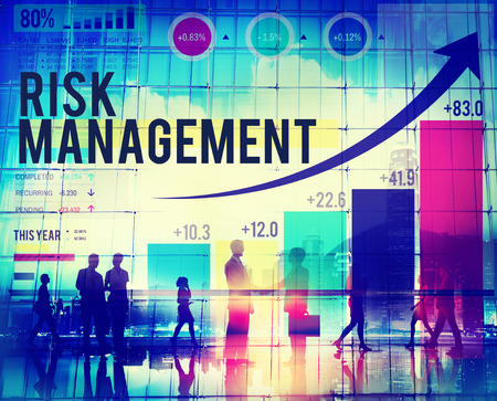 business risk: Risk Management Opportunity Planning Safety Concept Stock Photo