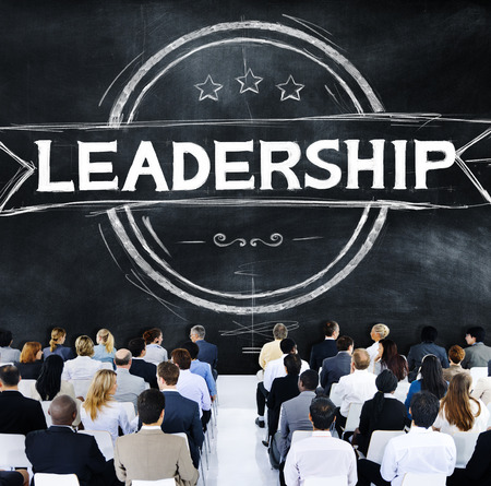 authoritarian: Leadership Leader Authoritarian Management Trainer Concept