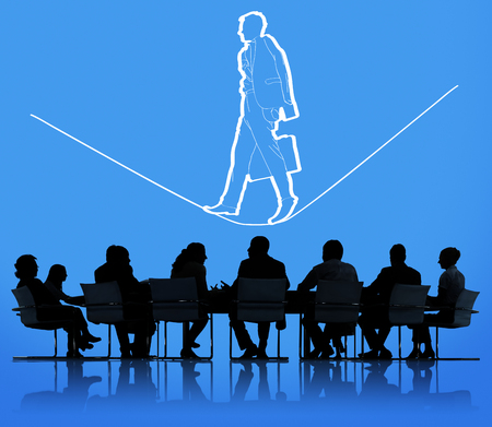 Risk Management Insurance Safety Unsteady Concept Standard-Bild