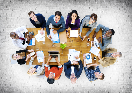 ethnic people: Business People Conference Meeting Discussion Concept Stock Photo