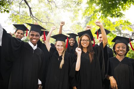 多様性生卒業成功祝賀会コンセプト 写真素材 - 44278828