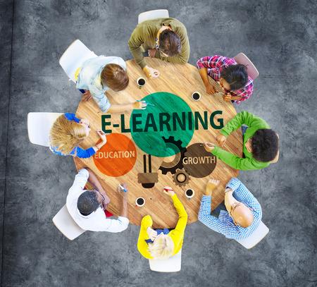 conocimientos: Educaci�n Crecimiento Conocimiento Informaci�n Concept E-learning