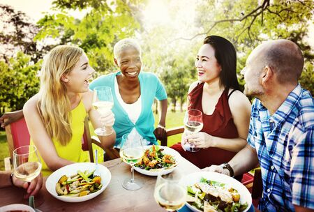 chilling: Friends Friendship Outdoor Chilling Togetherness Concept