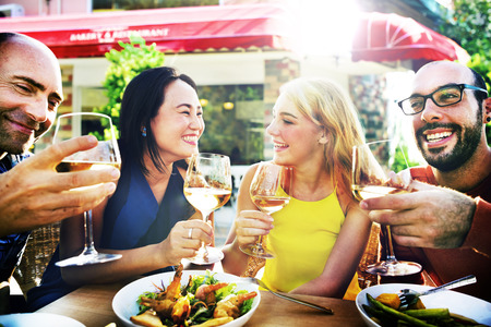 dining out: Friend Friendship Dining Celebration Hanging out Concept