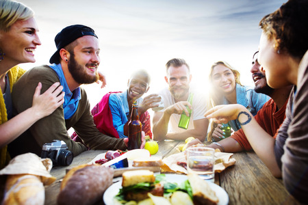 party friends: Friends Friendship Leisure Vacation Togetherness Fun Concept