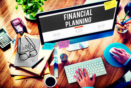 Financial Planning Accounting Investment Estate Concept Stock Photo