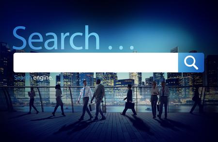 Search Seo Online Internet Browsing Web Concept Banque d'images