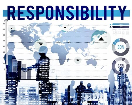 duty: Responsiility Duty Reliable Obligation Trust Concept