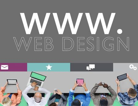 web browser: Web Design Web WWW Development Internet Media Creative Concept