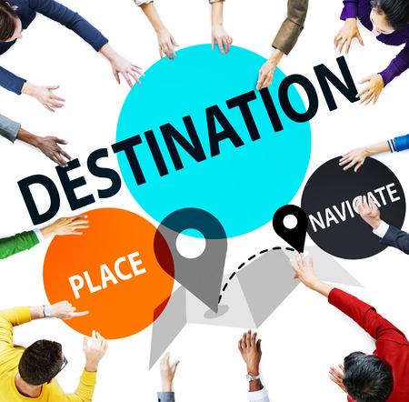 place to learn: Destination Navigate Exploration Place Travel Concept