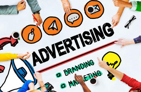 Advertising Commercial Online Marketing Shopping Concept