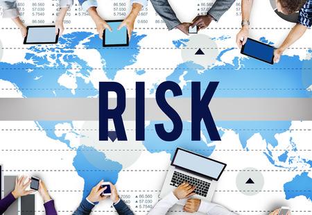 risk: Risk Change Protect Secure Danger Hazard Concept