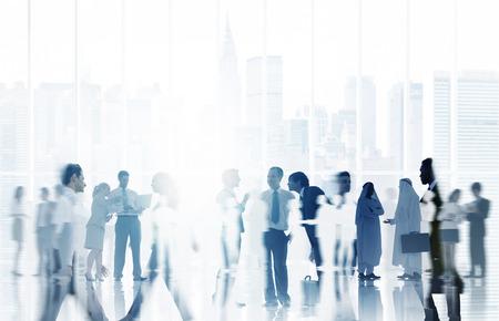 Gente de negocios Comunicación Equipo Corporativo Concepto Foto de archivo - 44733421