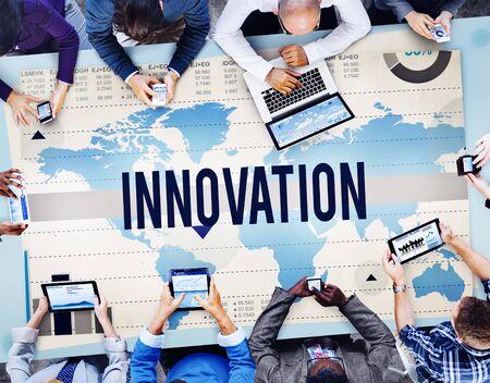 creativity: Innovation Creativity Ideas Invention Mission Concept Stock Photo