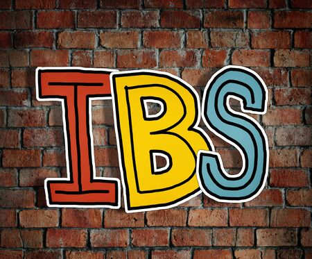 ibs: IBS Letter on Brick Wall in the Back