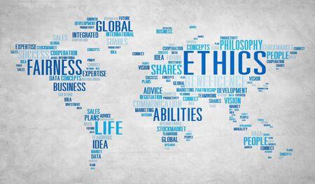 valores morales: Ideales �tica Principios Morales Normas Concept