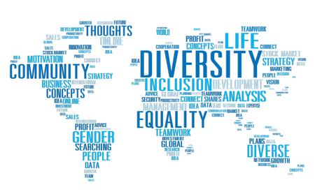 racial diversity: Diversity Ethnicity World Global Community Concept