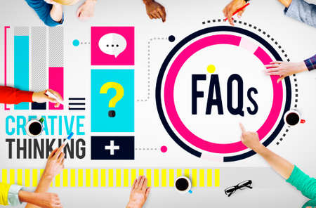 faq: Frequently Asked Questions FAQ Problems Concept