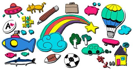 immagination: Hobby Immagination Fun Creativity Activity Inspiration Concept Stock Photo