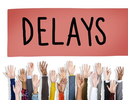 retain: Delays Late Layover Postponed Hindrance Retain Concept
