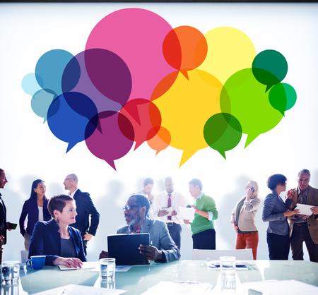 men ideas: Speech Bubbles Message Concept Symbol Communication Idea Concept