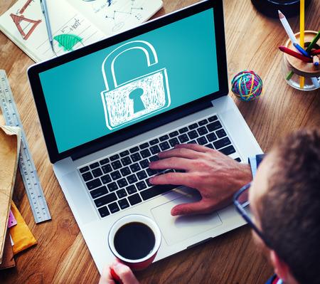 privacidad: Concepto Accesibilidad contraseña Privacidad Protección Seguridad